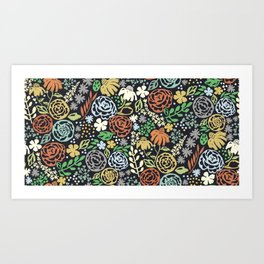 Dark Garden Art Print