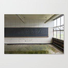 Abandoned School Canvas Print