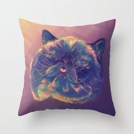 Der The Cat Throw Pillow