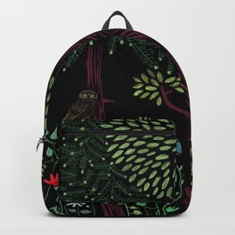 Into The Woods At Night Backpack