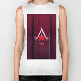 creed assassins Biker Tank