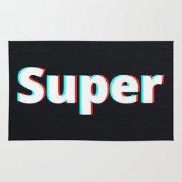 Super / Black Rug