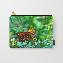 A Lazy Summertime Butterfly Carry-All Pouch