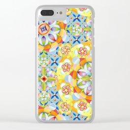Byzantine Heraldic Clear iPhone Case