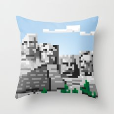south dakota rocks Throw Pillow