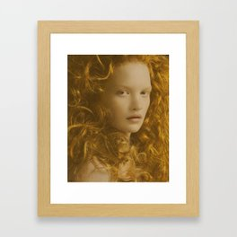 DIVINE TIDE 1 Framed Art Print