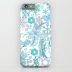 Bright xmas pattern iPhone 6s Slim Case