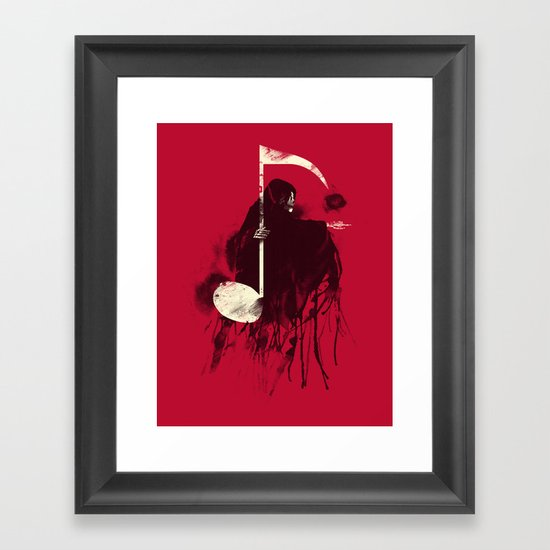 Death Note Framed Art Print