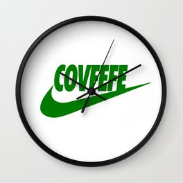 Covfefe [GREEN] Wall Clock