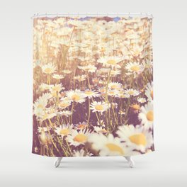 flowers. daisy photograph, We Need Each Other Shower Curtain
