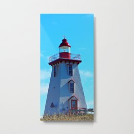 Souris PEI Lighthouse Metal Print
