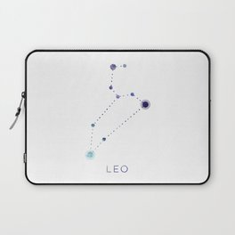 LEO STAR CONSTELLATION ZODIAC SIGN Laptop Sleeve