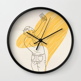 Narcissism Wall Clock