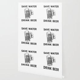 Drink Beer Not Water Wallpaper