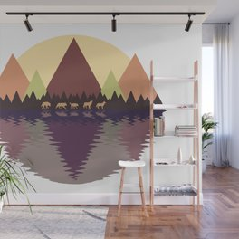 Wolf Pack #9 Wall Mural