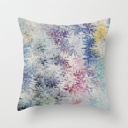 Abstract 205 Throw Pillow