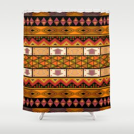 African design Shower Curtain