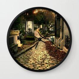Pere Lachaise Cemetery Wall Clock