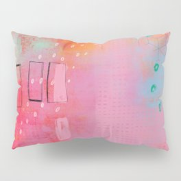 are you pretending - abstract painting Pillow Sham