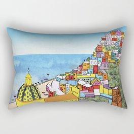 Towns of Italy II Rectangular Pillow