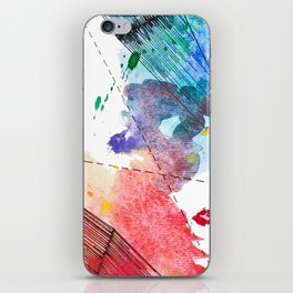 Colorfully Paired iPhone Skin