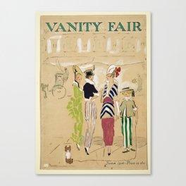 Vanity Fair 1914 Canvas Print