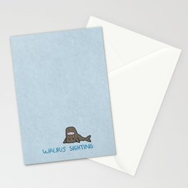 Walrus Sighting Stationery Cards