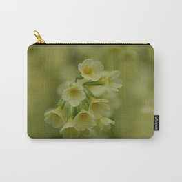 Primulas in the Spring Carry-All Pouch