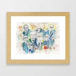 Feel the Bernies Framed Art Print