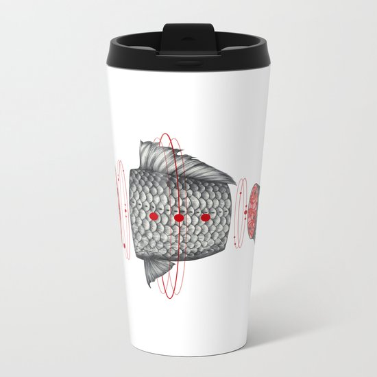 Sashimi III Metal Travel Mug