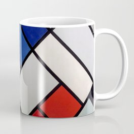 Theo van Doesburg - Contra-Compositions of Dissonances XVI - Abstract De Stijl Painting Coffee Mug