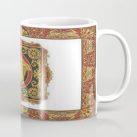 givenchy Mugs featuring Classic Versace by Goldflakes