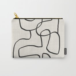 Abstract line art 15 Carry-All Pouch