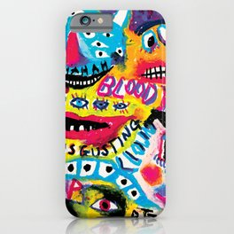 Creepy Monsters iPhone Case