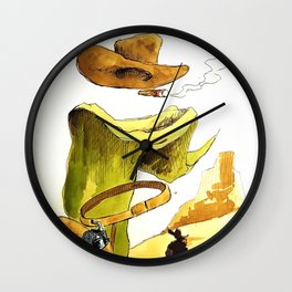 Without a name Wall Clock