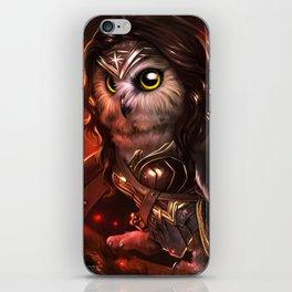 wonder owl iPhone Skin