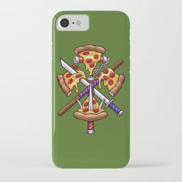 Ninja Pizza iPhone Case