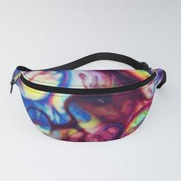 Fluid Color Fanny Pack