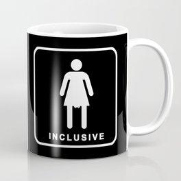 gender neutral restroom sign Coffee Mug