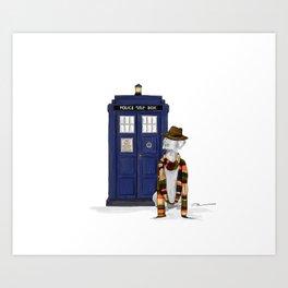 DOCTOR WEIM? Art Print