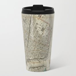 New York 1840 Travel Mug