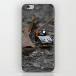 discarded nature iPhone Skin