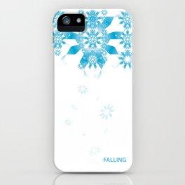 FALLING iPhone Case