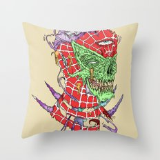 Zombie Sense Throw Pillow