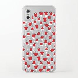 Marathon Clear iPhone Case