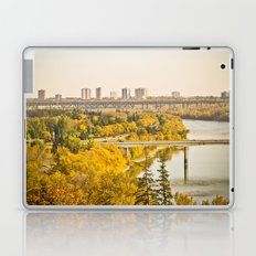 Fall in the city Laptop & iPad Skin