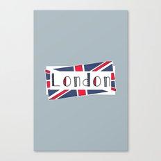 Home, Love, Illustration, Heart, london  Canvas Print