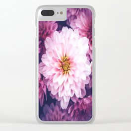 LaPinko Flower Clear iPhone Case