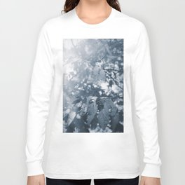 Abide with Me (Blue) Long Sleeve T-shirt