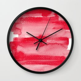 15 | 190623 | Colour Study Watercolor Painting Wall Clock
